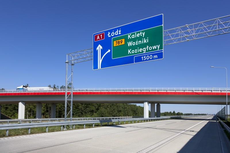 nowy odcinek autostrady A1